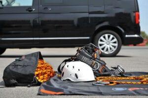 Utrustning inom fallskydd
