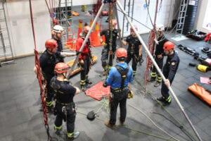 Utbildning fallskydd och räddning