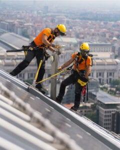 Fallhindrande fallskyddssystem