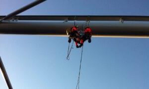 Inspektion med drönare inom bygg och infrastruktur