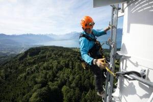 Fallskydd - falldämpande system