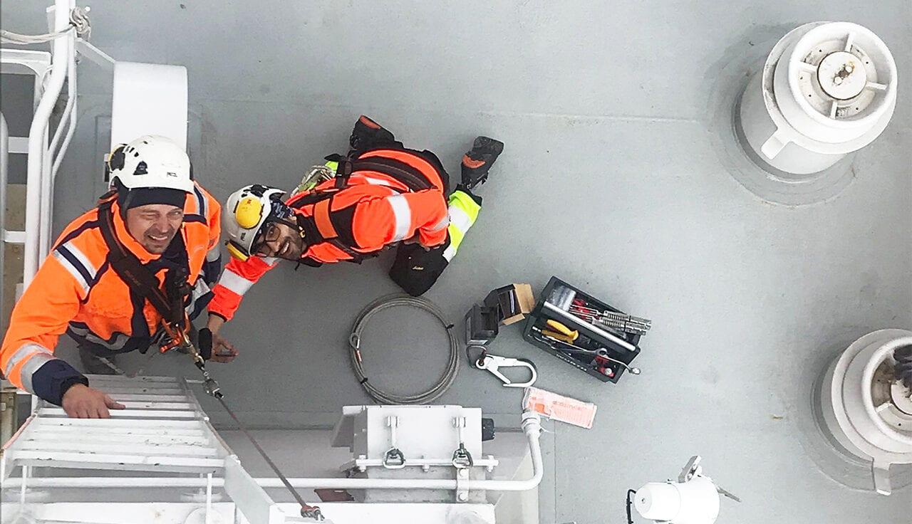 Projekt inom fallskydd, besiktning, utrustning, installation och kurs