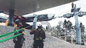 Projekt: Helhetslösning för fallskydd till Kolmården