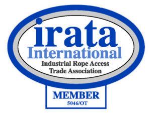 Klättertekniks IRATA logo - certifierade yrkesklättrare och utbildare