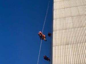 IRATA 3 yrkesklättrare, reparbetare, rope access, utbildning, kurs