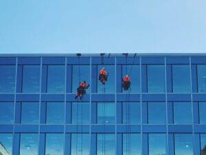 Reparbete, yrkesklättring, IRATA, utbildning, kurs, rope access, yrkesklättrare, reparbetare, nivå 2, level 2