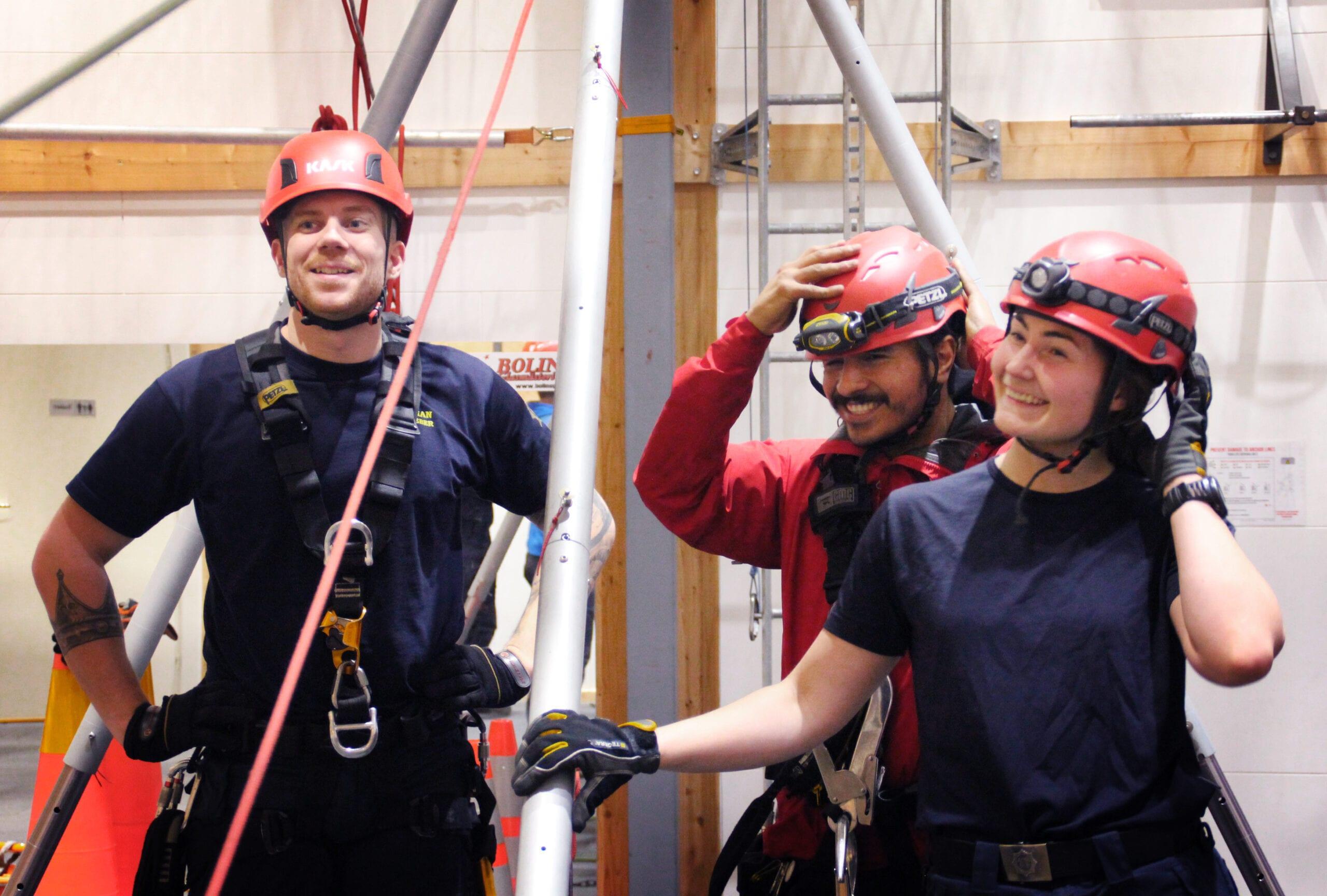 Utbildningar, kurser, fallskydd, lyft, yrkesklättring, säkerhet, jobba säkert