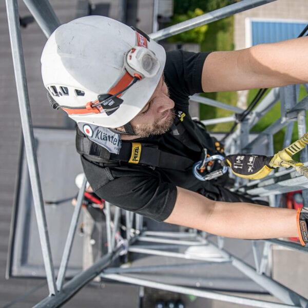 Kurs utbildning Mastcertifikat stolpar master fallskydd certifikat